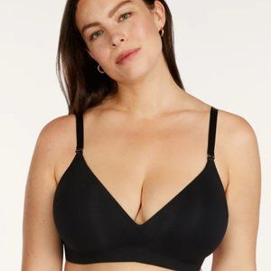 ThirdLove Pima Cotton Bra | Black, 36E